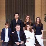 Januar 2015  Die jordanische Königsfamilie wünscht ein friedliches und glückliches Jahr 2015.