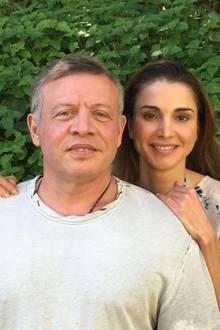 10. Juni 2016  Das Königspaar von Jordanien feiert seinen 26. Hochzeitstag.