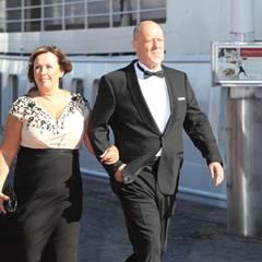 Marie und Erik Hellqvist, die Eltern der Braut