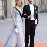 Die schöne Prinzessin Tatiana und Prinz Nikolaos aus Griechenland zählen ebenfalls zu den geladenen Gästen.