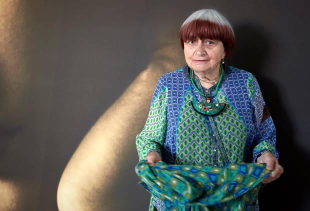 """Filmregisseurin Agnes Varda posiert für die Veranstaltungsreihe """"Women in Motion""""."""