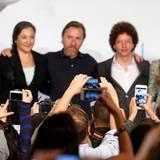 """Das Team von """"Chronic"""" stellt seinen Film in Cannes vor."""