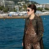 Noomi Rapace genießt die Sonne an der französischen Küste.