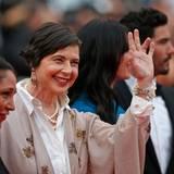 Jury-Präsidentin Isabella Rossellina hat für die Fotografen immer ein Lächeln übrig.