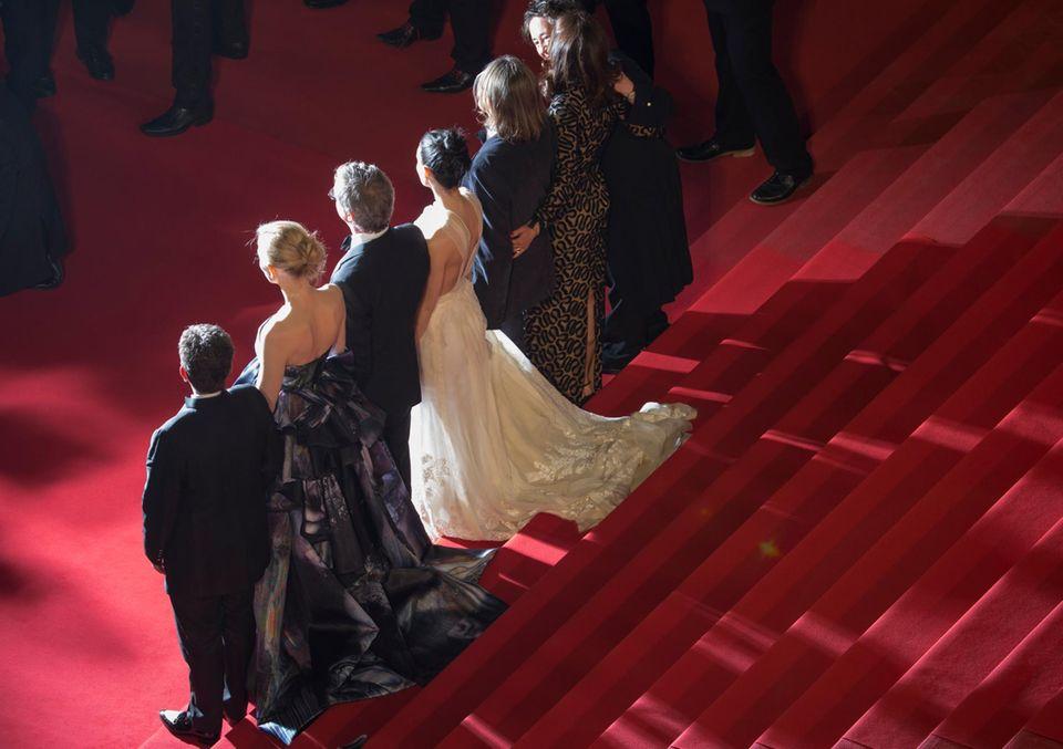 """Todd Haynes, Cate Blanchett und Rooney Mara haben gerade ihren Film """"Carol"""" in Cannes vorgestellt."""