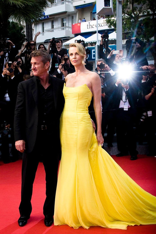 Das Paar des Abends: Charlize Theron und Sean Penn treten endlich mal wieder gemeinsam auf ...