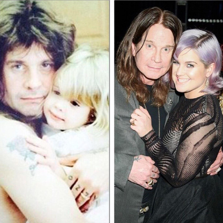 """Kelly Osbourne hat Folgendes über ihren Vater Ozzy zu sagen: """"Happy Fathers Day Dadda! Ich bin eines der glücklichsten Mädchen der Welt!!! Du bist nicht nur mein Papa, sondern auch mein bester Freund und mein Held!!!"""""""