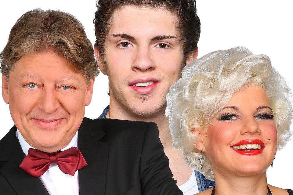 Walter Freiwald, Joey Heindle, Melanie Müller