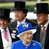 Queen Elizabeth ist seit jeher ein großer Pferdefan.