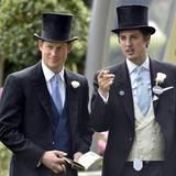 Prinz Harry mit seinem Freund jake Warren
