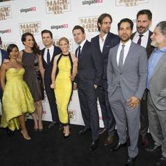 Premierenfeier in Hollywood: Cast