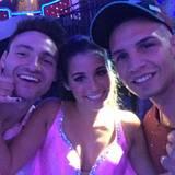 20. Mai 2016  Pietro bittet die Fans für das Weiterkommen von Sarah und ihrem Tanzpartner Robert Beitsch bei Let's Dance anzurufen.