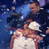 """7. Mai 2011  Dramatisches Finale: Sarah und Pietro schaffen es bei """"DSDS"""" beide bis in die letzte Show und müssen gegeneinander antreten. Pietro kann sich schließlich durchsetzten."""