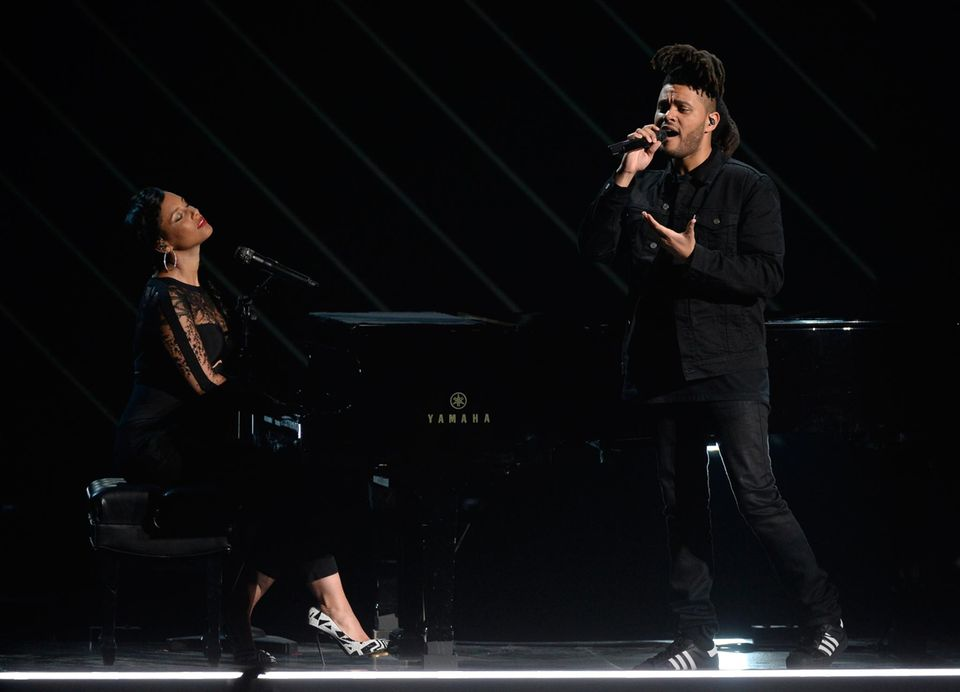 Alicia Keys und The Weekend