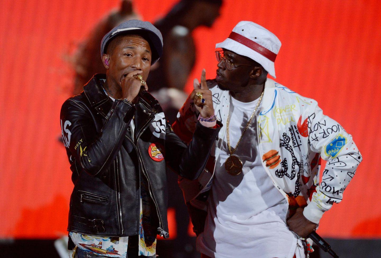 "Pharrell Williams und Sean ""Diddy"" Combs"