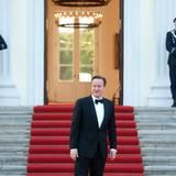Tag 2  ZUm Offiziellen Dinner im Schloss Bellevue sind diverse Gäste geladen, darunter der britische Premiereminister David Cameron.