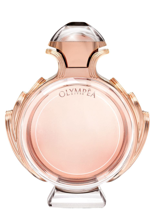 """Mit Jasmin und Bourbonvanille-Extrakt: """"Olympéa"""" von Paco Rabanne, EdP, 50 ml, ca. 75 Euro"""