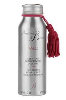 """Silky Foot Talcum Powder"" von Révérence de Bastien, 50 g, ca. 34 Euro, über www.net-a-porter.com"