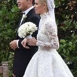 Endlich! Nicky Hilton schreitet mit ihrem Liebsten, dem Bankierserben James Rothschild, zum Traualtar.