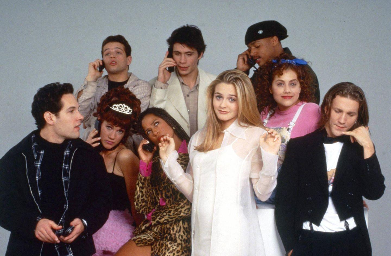 """Die komplette Highschool-Clique aus """"Clueless – Was sonst!"""" vor 24 Jahren. Doch was machen die Schüler des Kultstreifens heute?"""