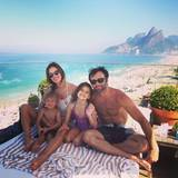 Bei bestem Wetter genießt Alessandra Ambrosio den Tag mit ihrer Familie in Rio.