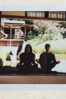 Erholung findet Zac Efron mit Freundin Sami Miro nicht etwa am Strand, sondern beim Meditieren in Kyoto.