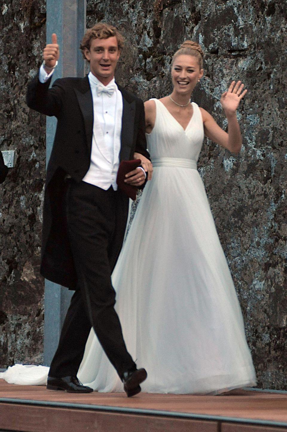 Pierre und Beatrice Casiraghi