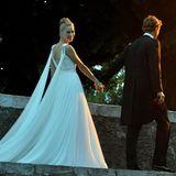 Beatrice Borromeo + Pierre Casiraghi: In der Abendsonne kommt romantisches Flair auf.