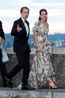 Gad Elmaleh und Charlotte Casiraghi