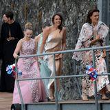 Stéphanie von Monaco mit ihrer Tochter Pauline Ducruet und Alexandra von Hannover
