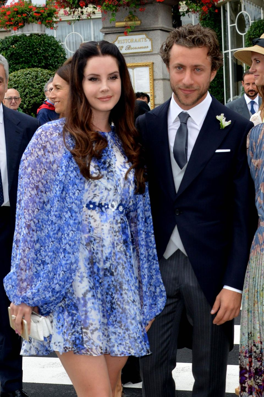 US-Sängerin Lana Del Rey mit ihrem Partner Francesco Carrozzini