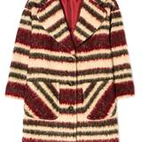 Statement-Stripes: Mantel von Sisley, ca. 210 Euro