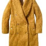 Schön warm anziehen: kuscheliger Mantel von Michael Kors Collection, ca. 2.930 Euro