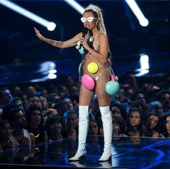 In Dingen Nacktheit macht Miley Cyrus aber niemand etwas vor.