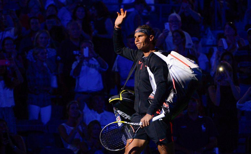Rafael Nadal tritt gegen Borna Coric aus Kroatien an und kann dieses Match für sich entscheiden.