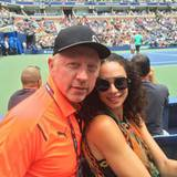 Boris und Lilly Becker fiebern natürlich mit Boris' Schützling Novak Djokovic mit.