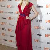 Lady in Red: Elle Fanning in Gucci