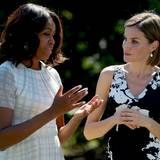 Gesunde, bewusste Ernährung liegt Michelle Obama besonders am Herzen.