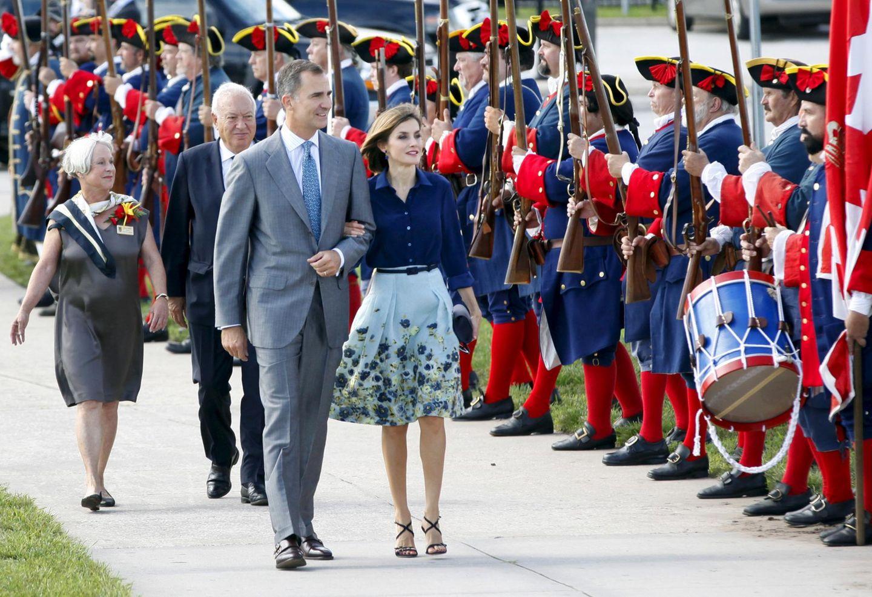 König Felipe und Königin Letizia reisen nach St. Augustine in Florida.