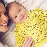 """""""To go bananas"""" bedeutet im Englischen, vor Freude durchzudrehen. Und nichts anderes können wir tun bei diesem entzückenden Outfit der kleinen Ioni James Conran."""