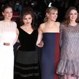 Romola Garai, Helena Bonham Carter, Anne-Marie Duff und Carey Mulligan spielen die Suffragetten Alice Haughton, Edith Ellyn, Violet Miller und Maud Watts.