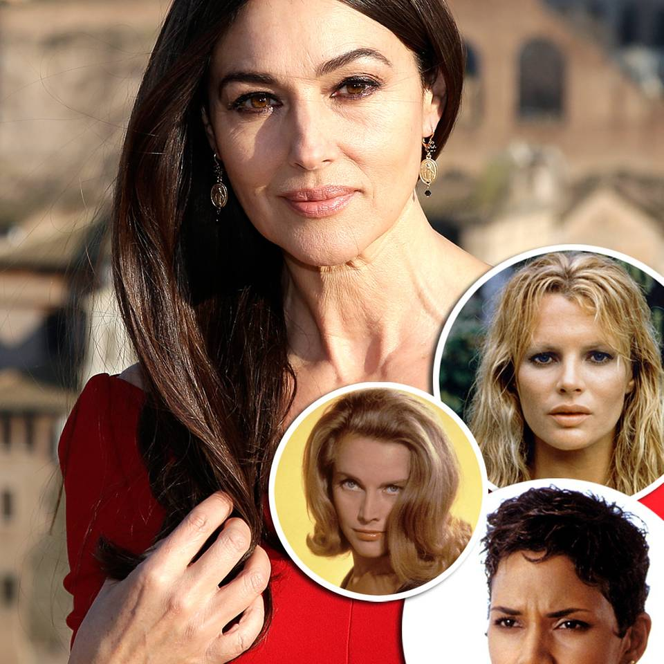 Die schönsten Frisuren der Bond-Girls