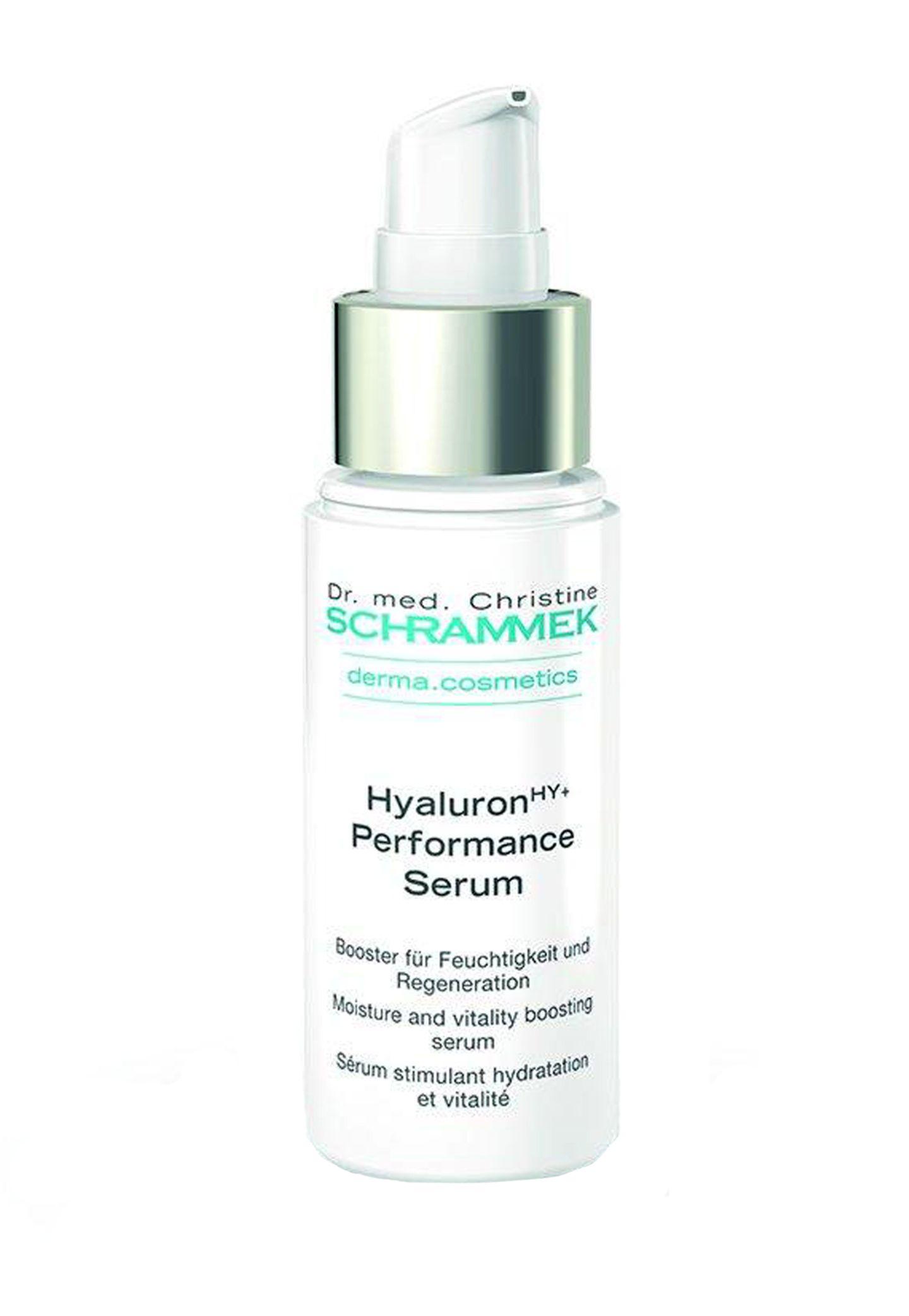 """Für Sensibelchen: """"Hyaluron HY+ Performance Serum"""" von Dr. Schrammek, 30 ml, ca. 48 Euro, www.schrammek.de"""