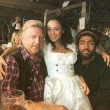 Boris Becker, seine Lilly und Sohn Noah verbringen einen gemeinsamen Abend auf der Wiesn.