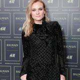Diane Kruger trägt als Star-Gast auch Balmain für H&M.