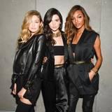 Power-Trio: Gigi Hadid, Kedall Jenner und Jourdan Dunn in Balmain für H&M.