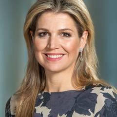 Königin Máxima, die Frau von König Willem-Alexander.  Das Paar hat drei Töchter: Catharina Amalia, die Prinzessin von Oranien, Prinzessin Alexia und Prinzessin Ariane.