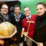 Sind begeistert von der Winterkollektion von LA MARTINA: Maik Homeyer (MSC Kreuzfahrten), Andreas Türck (pilot), Dennis Okon (Gruner + Jahr) und John Schlüter (THOMAS SABO).