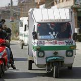 Zuerst steht der Kontinent Asien auf dem Programm: David Beckham fährt in die drittgrößten Stadt Nepals, Bhaktapur.