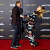 Woody Harrelson und Elizabeth Banks